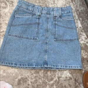 Urban outfitters Jean skirt! Size small